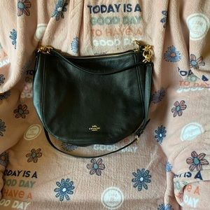 Super cute Coach shoulder bag.